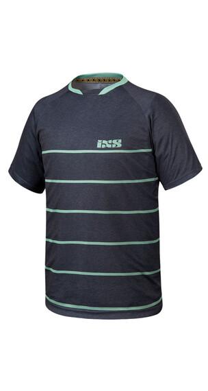 IXS Progressive 6.2 Trail Jersey Men black/pale green